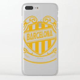 barcelona x 2 Clear iPhone Case