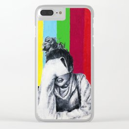 Interference Clear iPhone Case