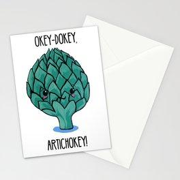 Okey-Dokey, Artichokey! Stationery Cards