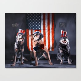 Foggytop Krew Fourth of July Canvas Print