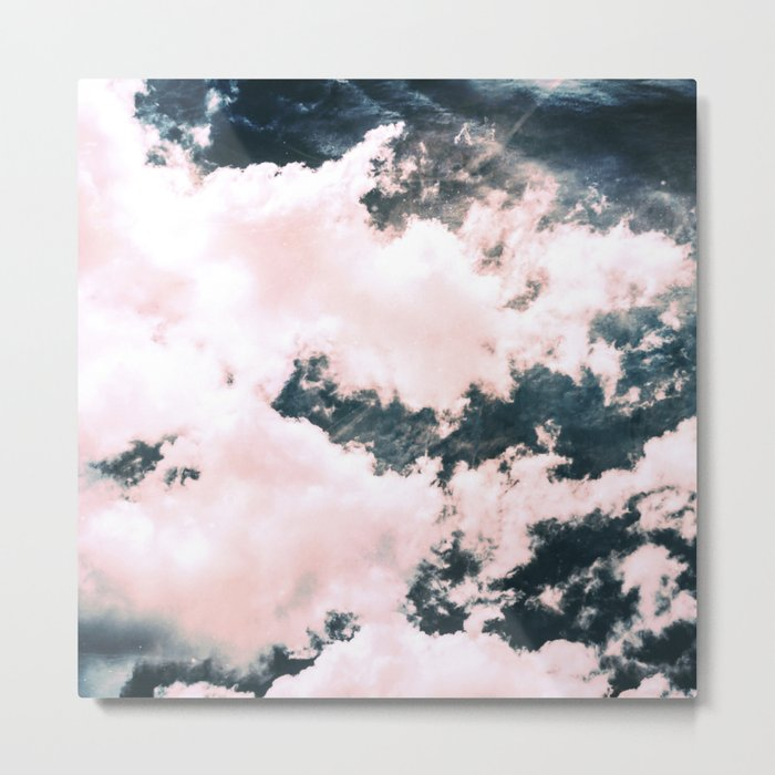 Ocean Clouds - Nature Photography Metal Print