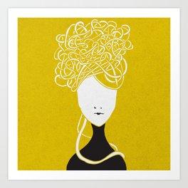 Iconia Girls - Maria May Art Print