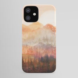 Forest Shrouded in Morning Mist iPhone Case