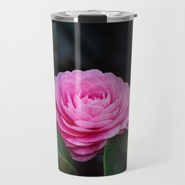Pink Perfection Camellia Japonica is Blooming Travel Mug