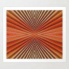 Geometric  pattern design Art Print