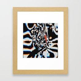 Tripping Pepper Framed Art Print