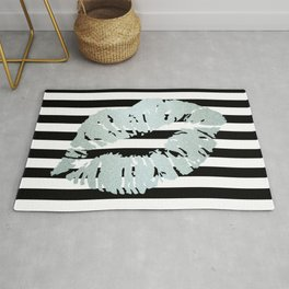 Stripes and Ice Kiss Rug