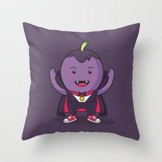 Grapecula Throw Pillow