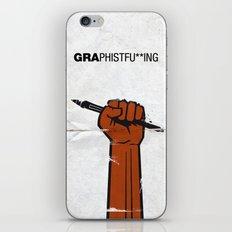 Graphistfu**ing iPhone & iPod Skin