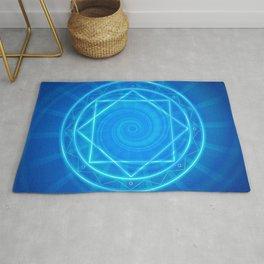 Magic circle of energy, Dr. Strange fanart Rug