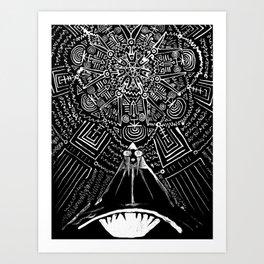 Magus Pi (Eye of God) Art Print
