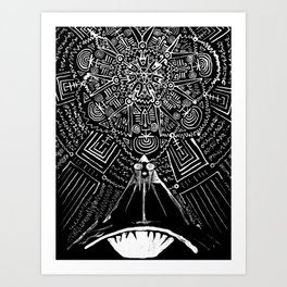 Magus Pi (Eye of God) Art Print
