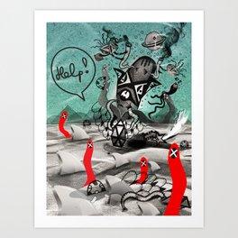 Saviour Art Print