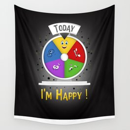 I am Happy Wall Tapestry