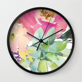 Summer Dreamin' Wall Clock