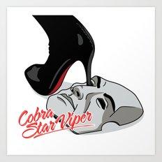 Cobra Star Viper Art Print