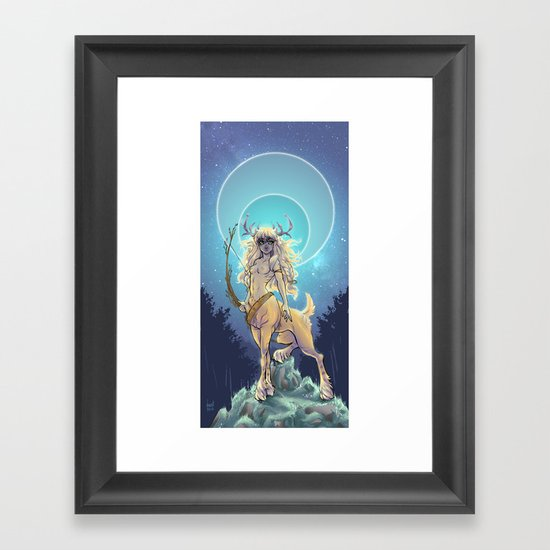 Golden Hind Framed Art Print