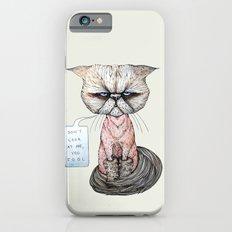 Kitty Got A Haircut iPhone 6s Slim Case