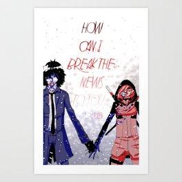 Hold me down Art Print