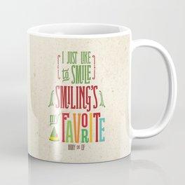 Buddy the Elf! Smiling's My Favorite! Coffee Mug