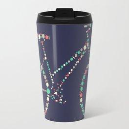 Bicycle in Dots Travel Mug