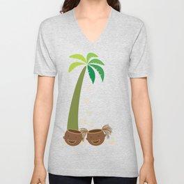 Coconut Twins Unisex V-Neck