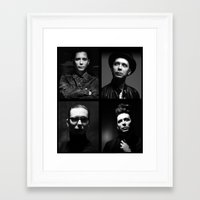 depeche mode Framed Art Prints featuring Venus Mode by House of Venus