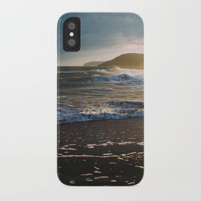 Misty Ocean #sunset iPhone Case