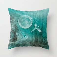 FOREST DREAMING Throw Pillow