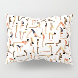Yoga Ladies Pillow Sham
