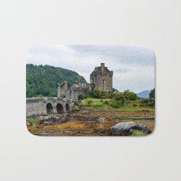 Eilean Donan Castle, Loch Duid - Highlands, Scotland, UK Bath Mat