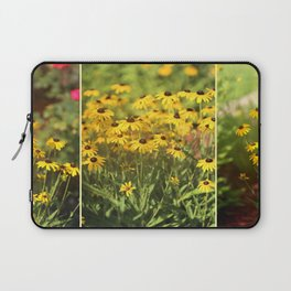 Black Eyed Susans Triptych Laptop Sleeve
