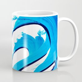 Pure Water 315 - Blue Abstract Art By Sharon Cummings Coffee Mug