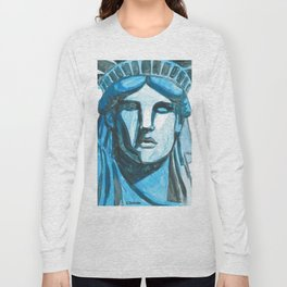 Lady Liberty - I'm With Her Long Sleeve T-shirt