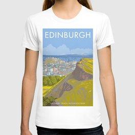 Endinburgh, Salisbury Crags T-shirt