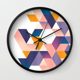 Unfinished III Wall Clock