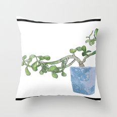 Plants are the best people Throw Pillow