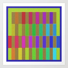 New Colors Art Print