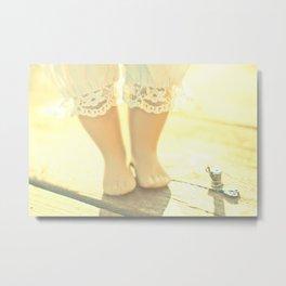 Alice's Escapades ~ Alice & The Thread Metal Print