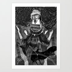 God of Birds Art Print