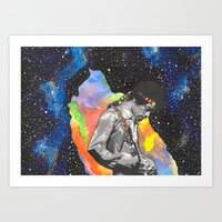 In the UNIVERSE Art Print