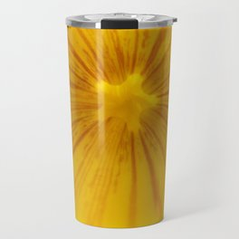 Yellow Magic Star by Mandy Ramsey, Haines, AK Travel Mug