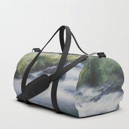 Mountain landscape Duffle Bag