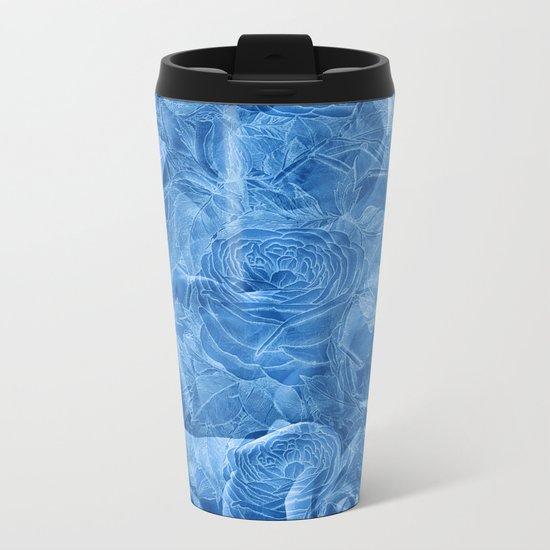 Nostalgia 3 - Blue Metal Travel Mug