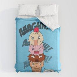 I Scream, You Scream, We All Scream for Ice Cream Duvet Cover