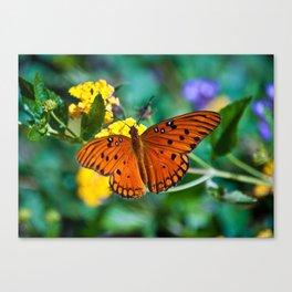 Flutterbye Canvas Print