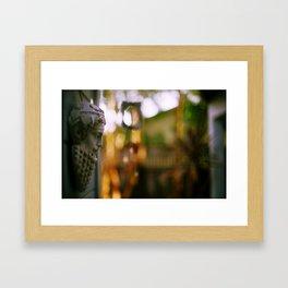 On the Wall Framed Art Print