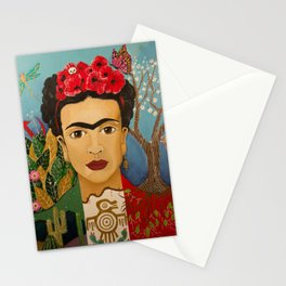 Bandera Frida Stationery Cards