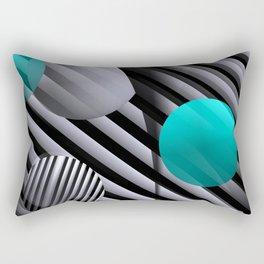 3D - abstraction -91- Rectangular Pillow