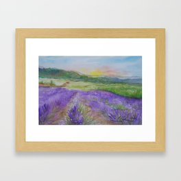 An Evening in Provence WC150601-12 Framed Art Print